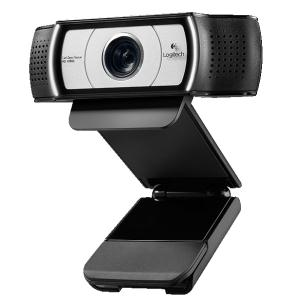 Logitech C930e Webcam - 30 fps - USB 2.0 - 1 Pack(s) - 1920 x 1080 Video - Auto-focus - 4x Digital Zoom UC CERTIFIED W/ H.