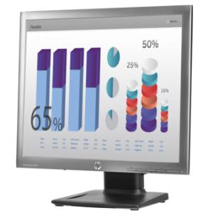 "HP Elite E190i 18.9"" SXGA LED LCD Monitor - 5:4 - Black - 19"" Class - In-plane Switching (IPS) Technology - 1280 x 1024 -"