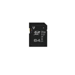 V7 64 GB UHS-III SDXC - 100 MB/s Read - 85 MB/s Write - 5 Year Warranty 100MBS MAX READ DIGITAL DSLR
