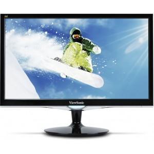"""Viewsonic VX2252mh 22"""" Full HD LED LCD Monitor - 22"""" Class - 1920 x 1080 - 250 Nit - 2 ms - DVI - HDMI - VGA DVI HDMI SPKR"""