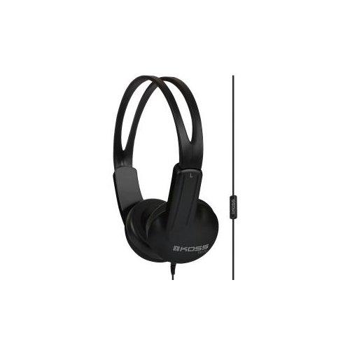Koss ED1TCi Headsets - Stereo - Mini-phone (3.5mm) - Wired - 32 Ohm - 60 Hz - 20 kHz - Over-the-head - Binaural - Supra-au