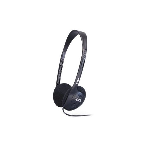 Cyber Acoustics ACM-70b Lightweight PC/Audio Stereo Headphone - Stereo - Mini-phone (3.5mm) - Wired - 20 Hz 20 kHz - Over-