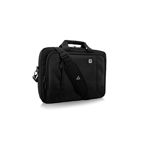 "V7 Professional CTP14-BLK-9N Carrying Case for 14.1"" Apple Notebook, MacBook Pro, Ultrabook, Chromebook - Black - Weather"
