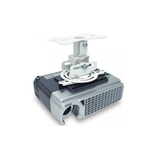 Atdec ceiling projector mount, fixed drop - Loads up to 33lb - VESA up to 65x200 - 360° projector rotation - Quick release
