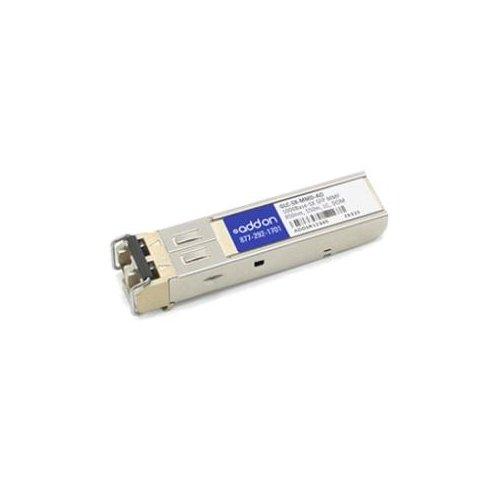AddOn Cisco GLC-SX-MMD Compatible TAA Compliant 1000Base-SX SFP Transceiver (MMF, 850nm, 550m, LC, DOM) - 100% compatible