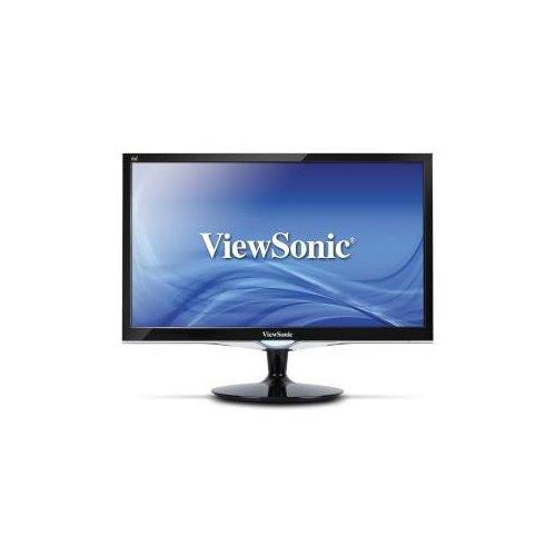 """Viewsonic VX2452mh 24"""" Full HD LED LCD Monitor - 16:9 - 24"""" Class - 1920 x 1080 - 300 Nit - 2 ms - DVI - HDMI - VGA DVI HD"""
