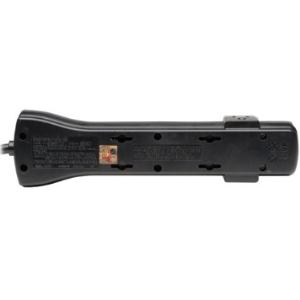 Tripp Lite Surge Protector Power Strip 120V 7 Outlet 7' Cord 2160 Joules Black - 7 x NEMA 5-15R - 1800 VA - 2160 J - 120 V